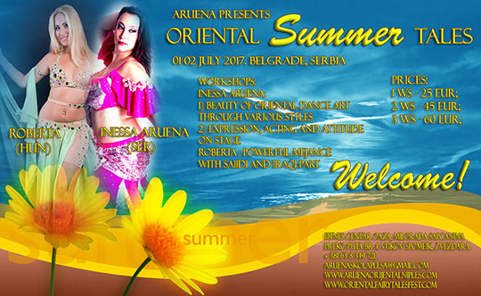 Oriental Summer Tales vikend!