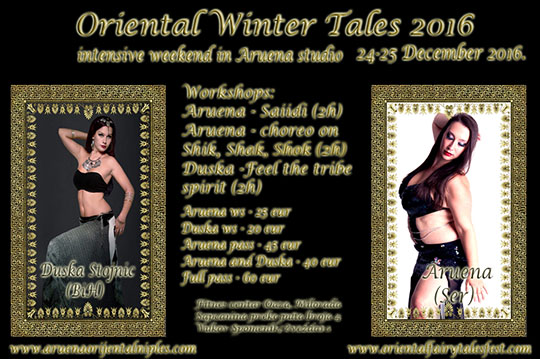 Oriental Winter Tales 2016!